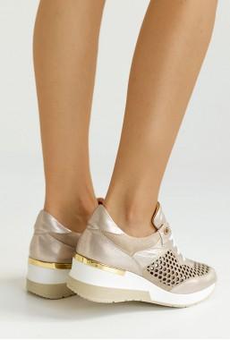 Ażurowe sneakersy Umelia