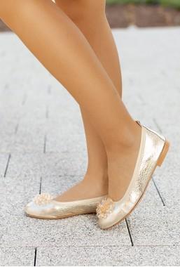 Złote baleriny Arely