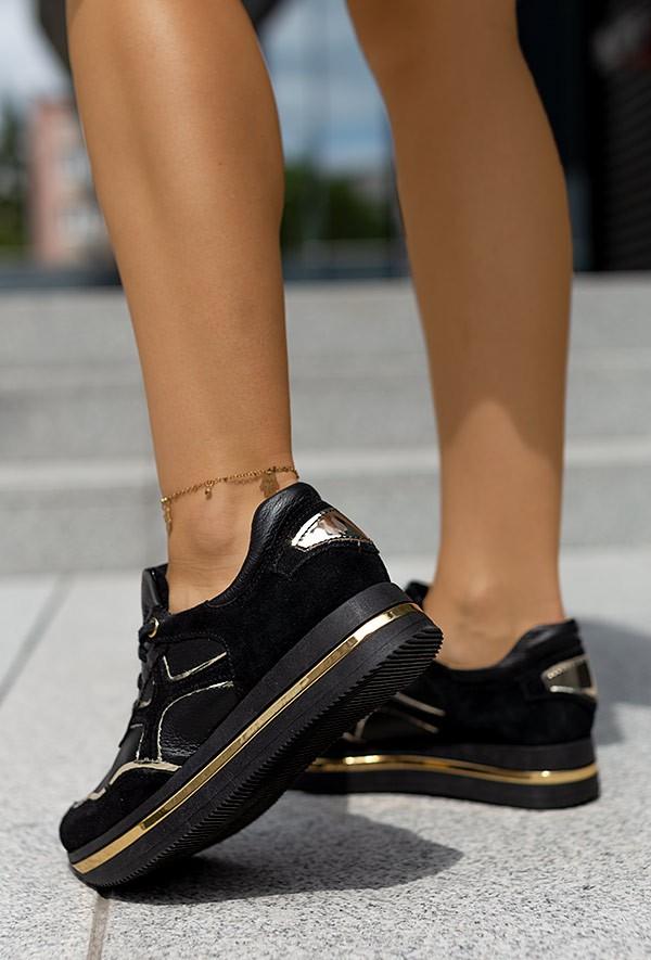 Czarne sneakersy Magie