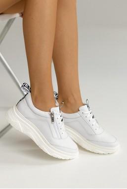 Białe sneakersy Sarah