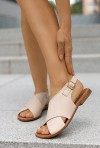 Beżowe sandały Grace
