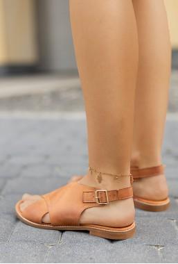 Brązowe sandały Grace