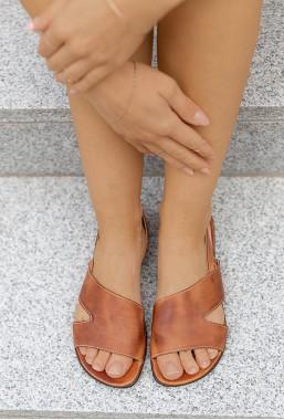 Brązowe sandały Alexis