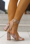 Beżowe sandały Jagna