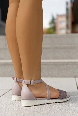 Sandały Vera lila