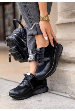 Czarne sneakersy Arzanna