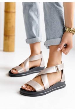 Srebrne sandały Jessenia