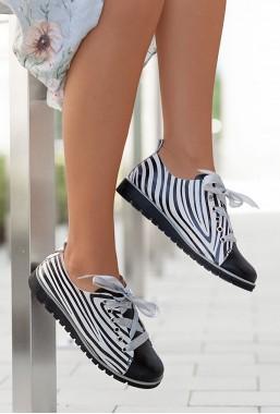 Trampki Dionne zebra