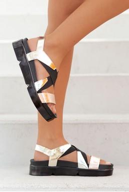 Sandały na gumce Molise