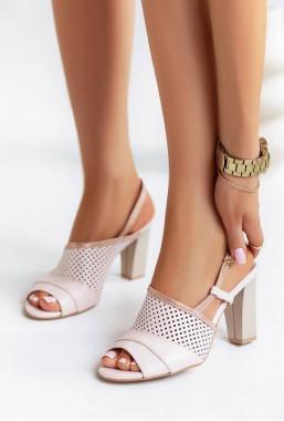 Różowe sandały Melinda
