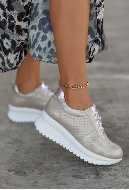 Sneakersy Esina cappuccino
