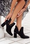 Czarne botki Bonito