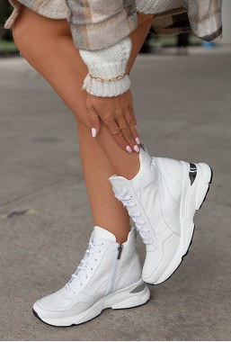 Białe sneakersy Tadia