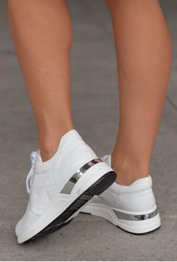 Białe sneakersy Tenor