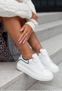 Białe sneakersy Ricoda