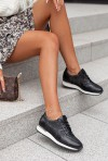 Czarne sneakersy Amilia