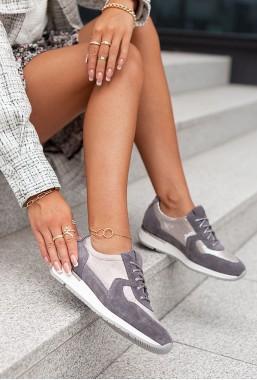Szare sneakersy Amilia