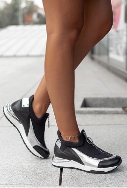 Czarne sneakersy Marien