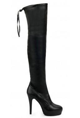 Czarne kozaki Varese