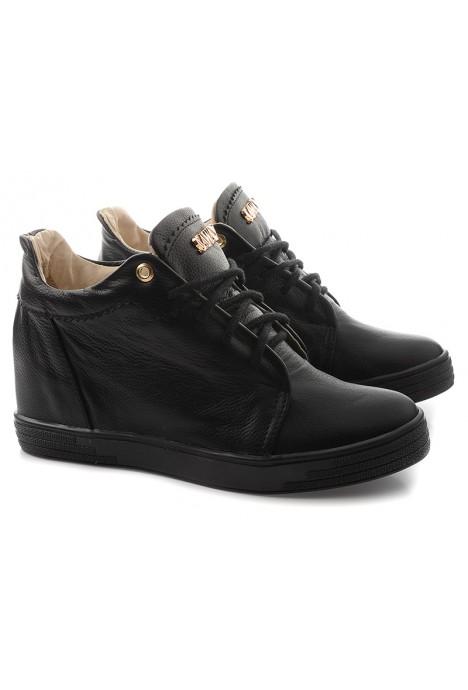 Czarne sneakersy Cloe