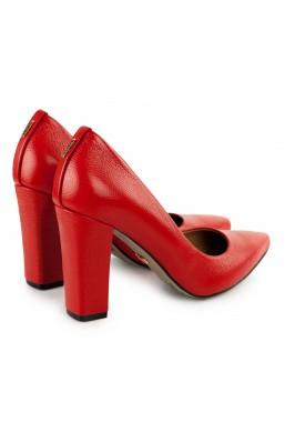 Czerwone czółenka Mallory