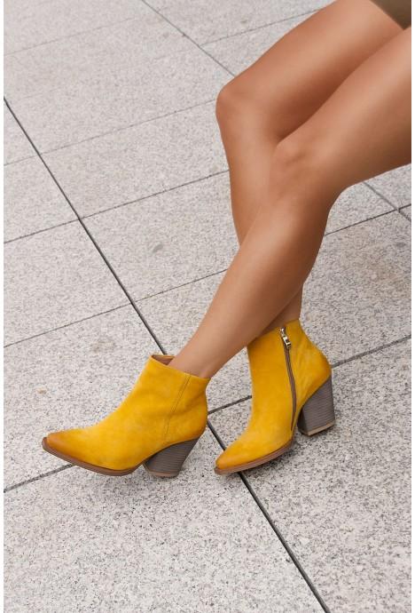 Żółte kowbojki Renatta