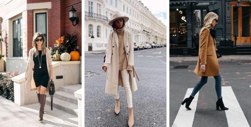 modne kolory na jesień 2019 beż