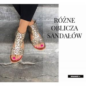Różne oblicza sandałów